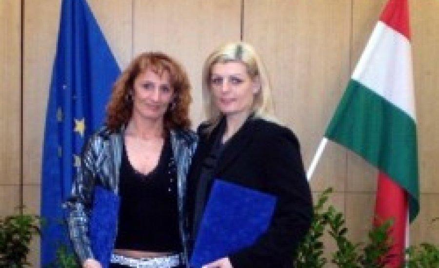 Miniszteri kitüntetés női ökölvívóinknak