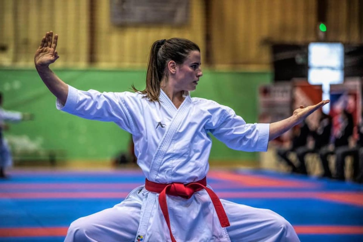 Sterck Laura karate