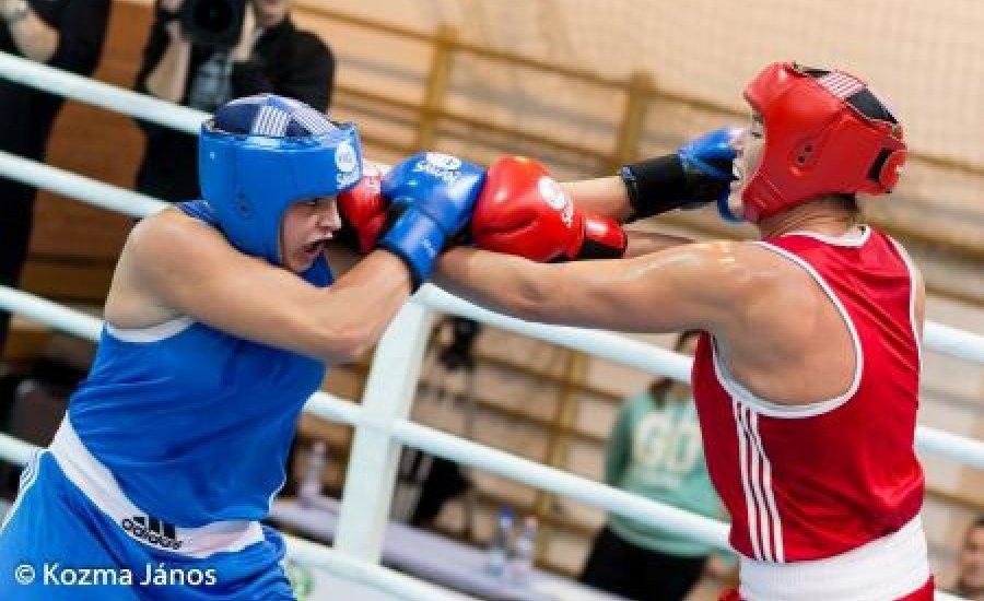 Szatmári Petra emelkedett ki a női ökölvívó bajnokságon