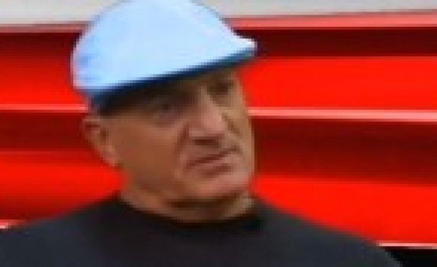 Veres László a Dinó Sporthiradóban