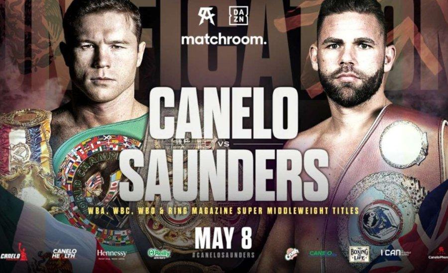 A csúcsok csúcsa lesz a Canelo/Saunders összecsapás
