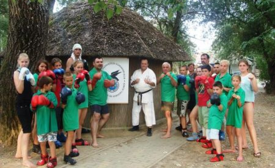 Egy kis taekwon-do klub nagy céljai-edzőtáborral