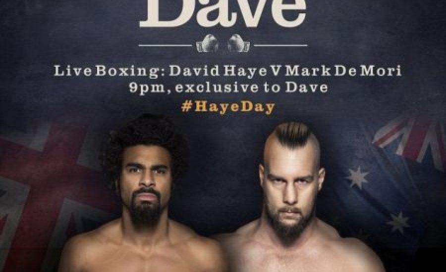 Mégis nézhető lesz TV-ben David Haye meccse