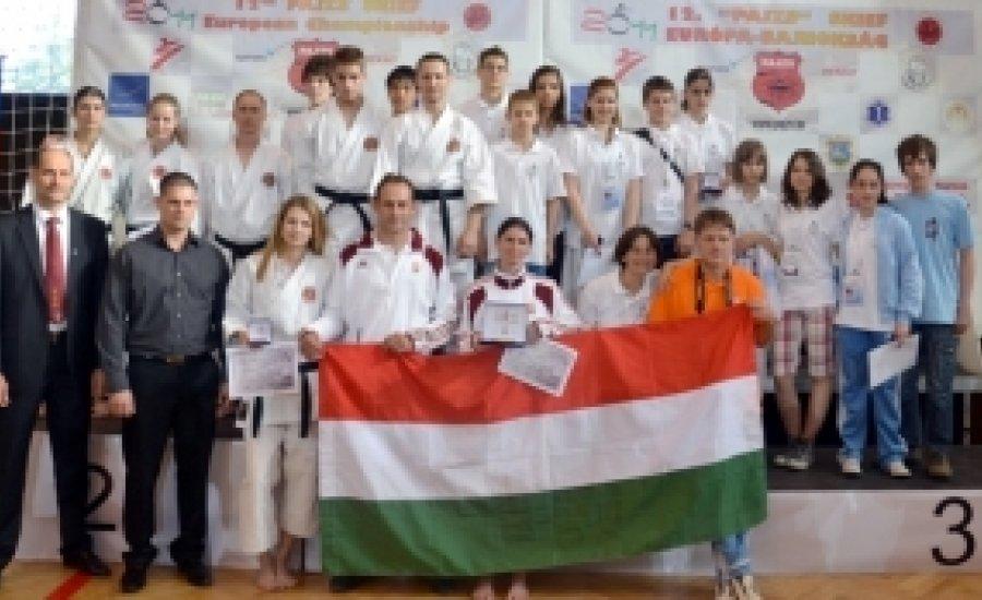 "12. ""Pajzs"" SKIEF Európa-bajnokság - 3 magyar arany"