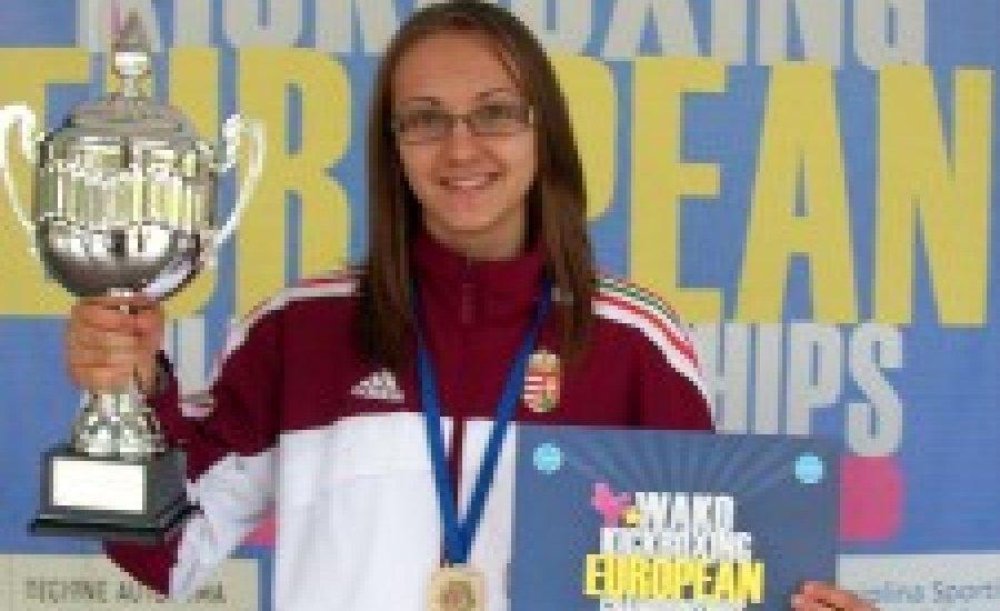 K-1-ben is arany: Éltető Daniella Európa-bajnok