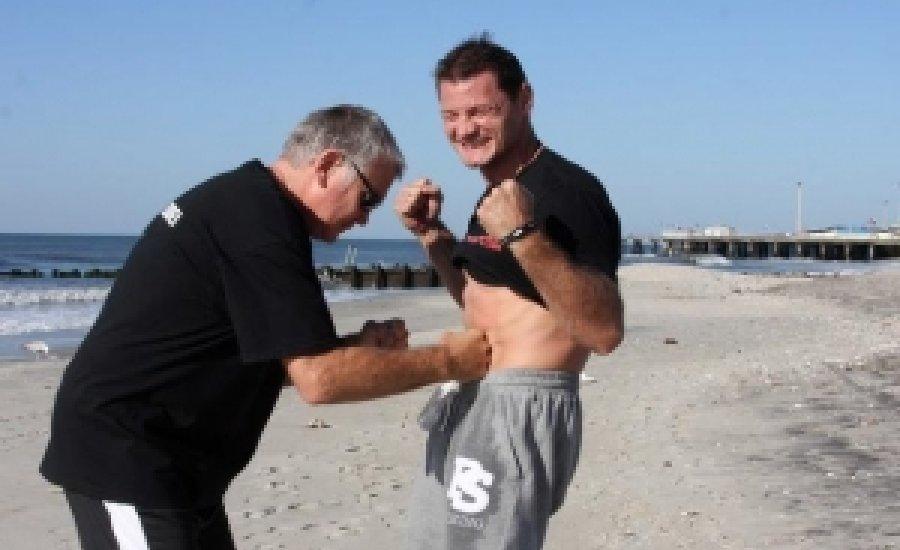 Erdei Zsolt: edzés az óceán partján