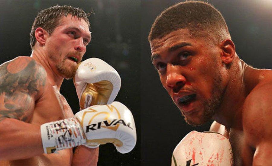 Oleksandr Usyk: Joshua vagy bokszol velem, vagy lemond a WBO övről