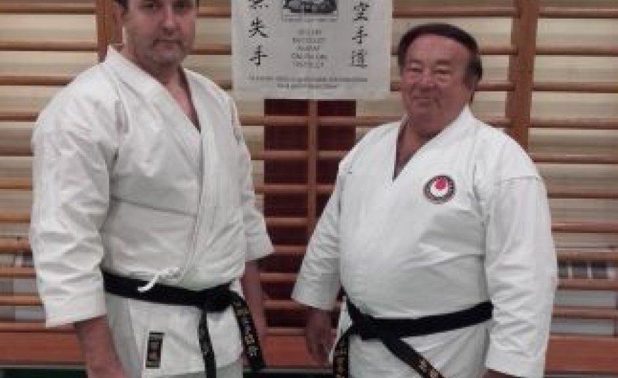 Karate kerettanterv előtt - Dr.Palkovics Lászlóval
