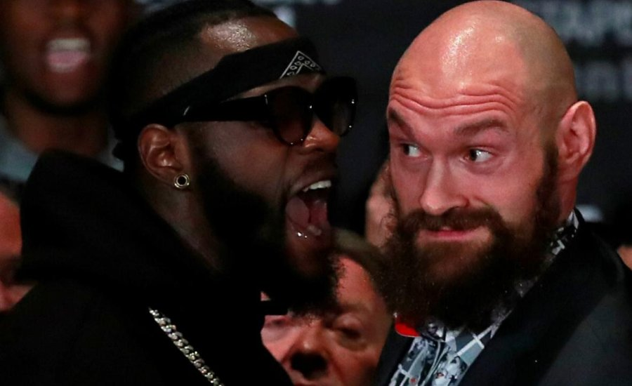 Kis híján már a sajtótájékoztatón összebokszolt Wilder és Fury