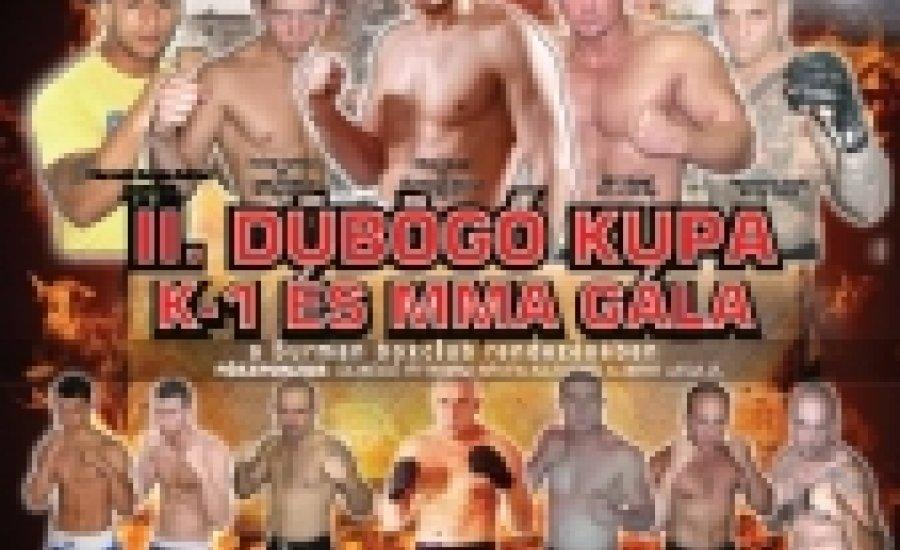 Dübögő Kupa K-1, MMA Gála Békés programja