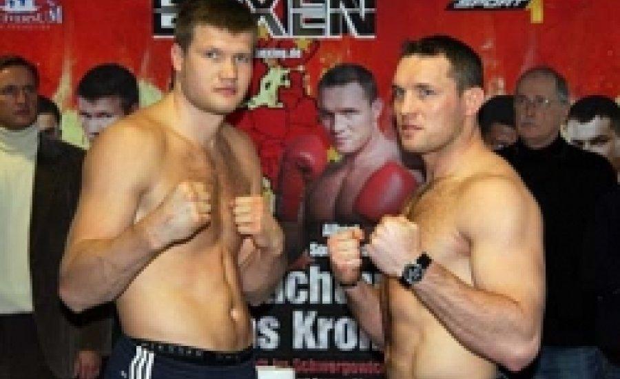 Dimitrenko és Sosnowski mérlegre állt