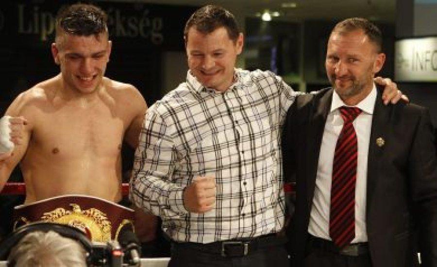 Nemesapáti a WBO Youth bajnoka