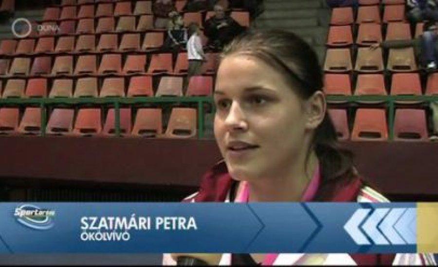Szatmári Petra is búcsúzott