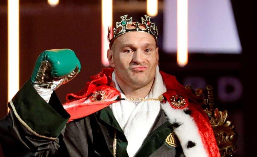 """A WBC """"franchise"""" bajnokká emelheti Tyson Fury-t"""