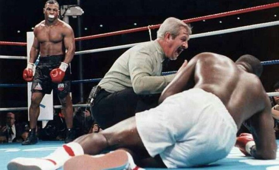 Hibázott a bíró a legendás Tyson-Douglas mérkőzésen