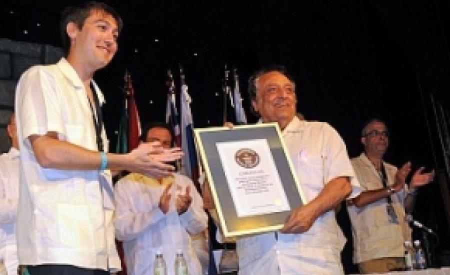 Jose Sulaiman Guinness-rekorder lett