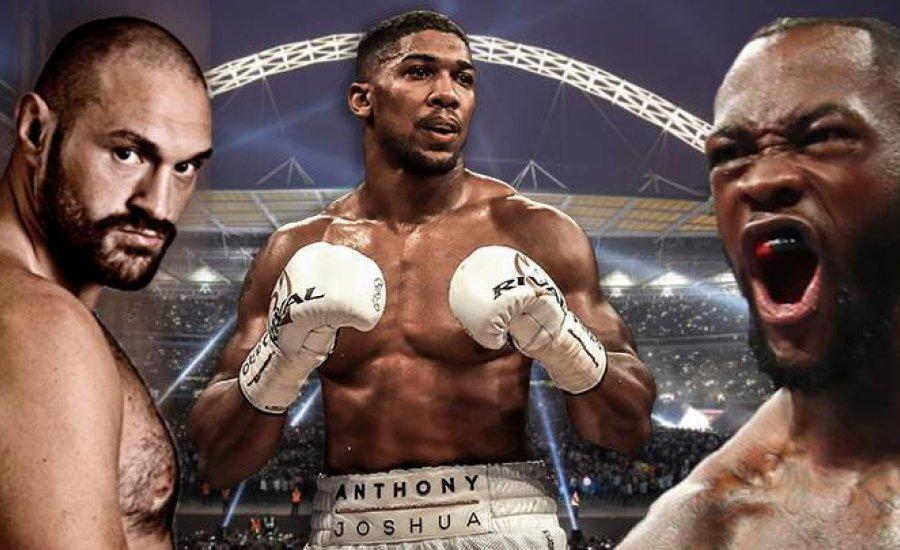Anthony Joshua csapata kész 50%-ot adni Wildernek vagy Furynak