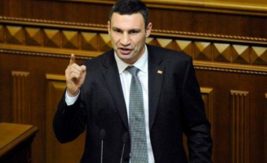 Vitalij Klicsko majdnem leütött egy pártelnököt