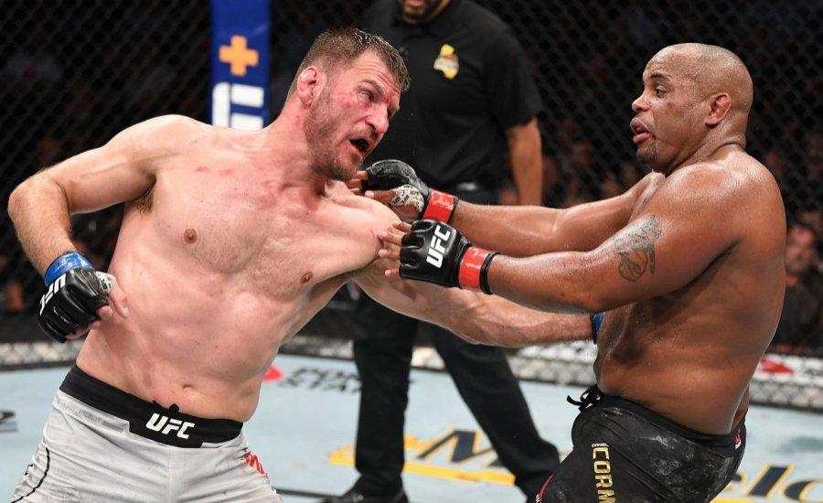 Az UFC összes nehézsúlyú világbajnoka egy videóban