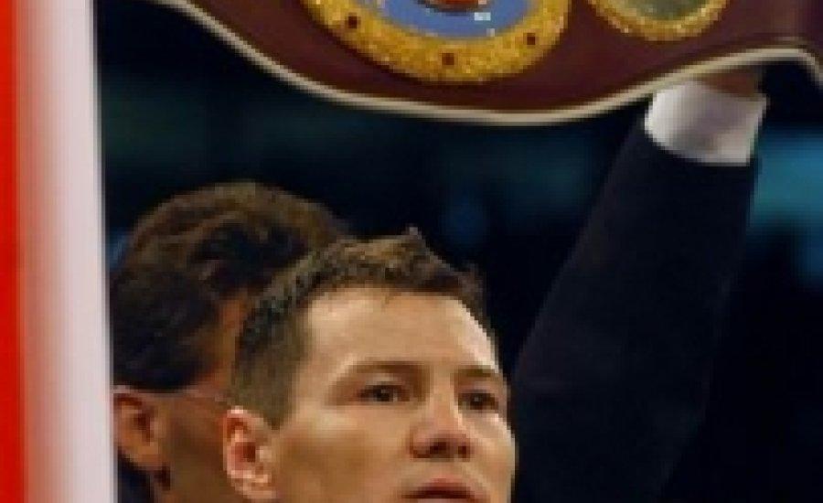 Erdei Zsoltot nem érdekli a WBO-öve, Hopkinst akarja
