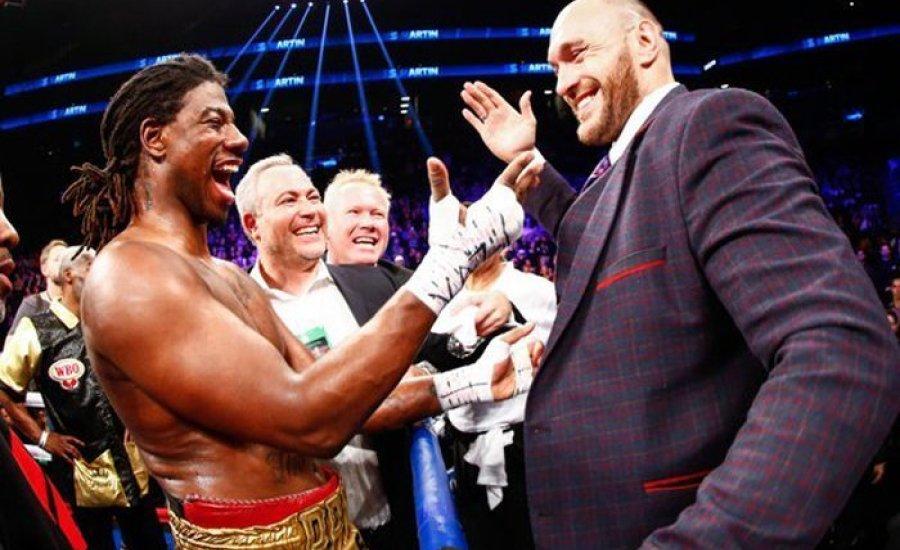 Ex-világbajnok lehet Tyson Fury következő ellenfele