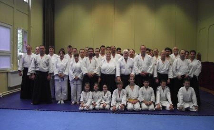 Aikido tábor Verebics Antal emlékére