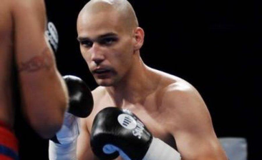 Nagy Lajos Márk a WBO youth övért boxol