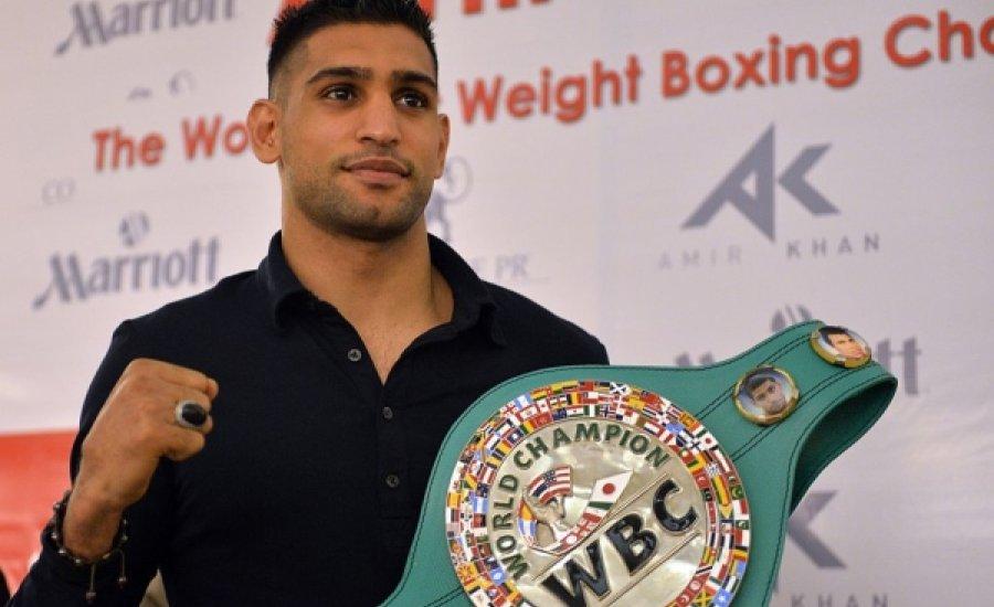 Amir Khan régiós elnök lett a WBC-nél