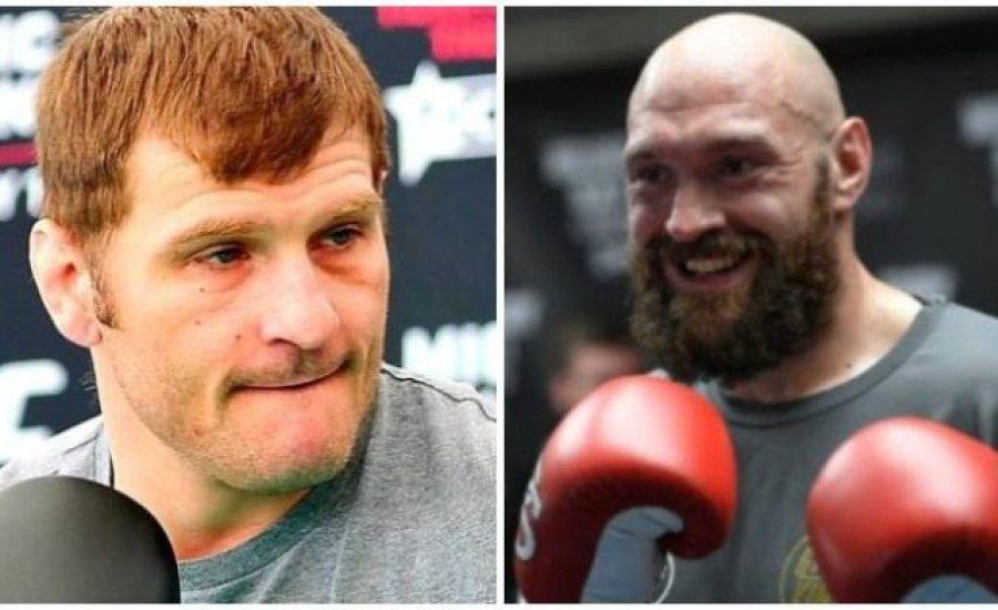 Az UFC nehézsúlyú világbajnoka örömmel várja Tyson Fury-t