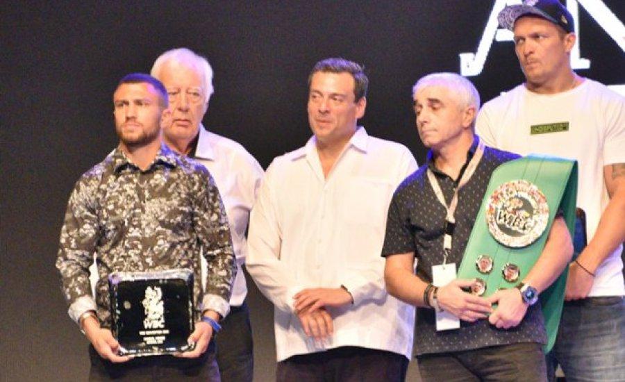 """Lomacsenko is a WBC """"Franchise bajnoka"""" lett"""