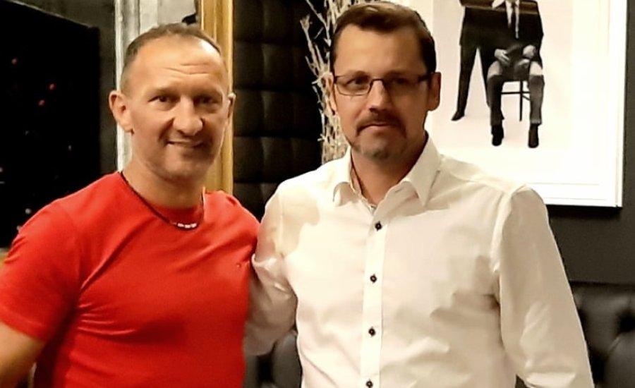 """Megvolt Bertók Róbert és Kovács """"Kokó"""" István első sportszakmai egyeztetése"""