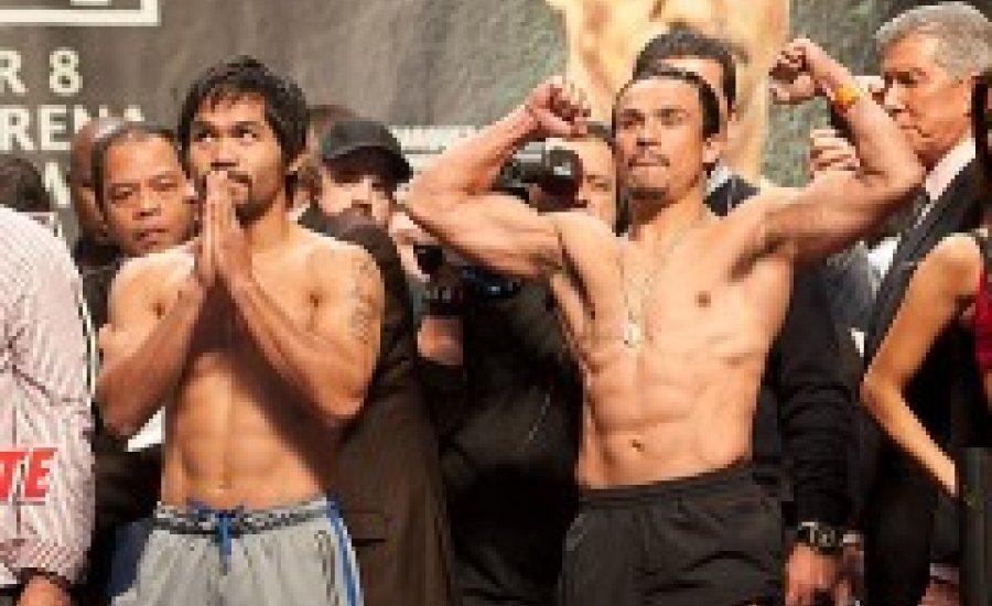 Pacquiao két kilóval nehezebb mint Marquez