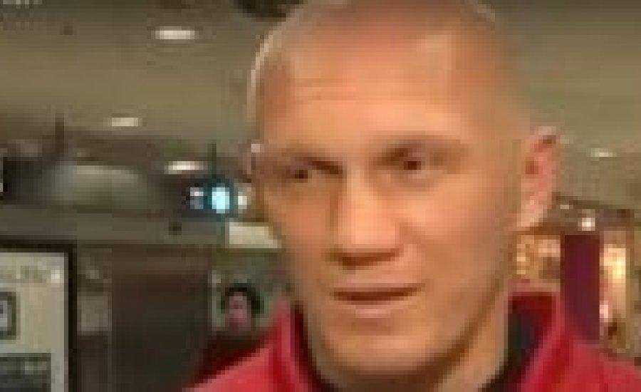 Denisz Gracsov megérkezett (video)
