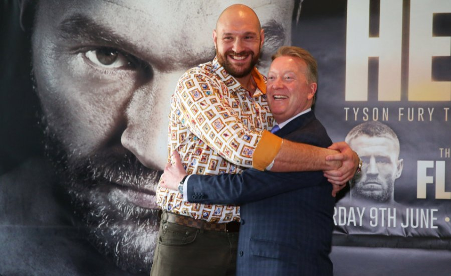 Tyson Fury promótere valódi poklot jósol Anthony Joshua számra