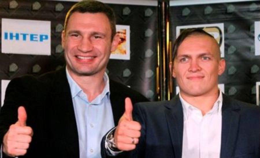 Vitalij Klicsko: Usyk még idén világbajnok lesz