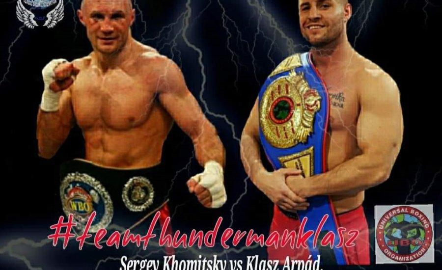Klasz Árpád május 8-án lép ringbe