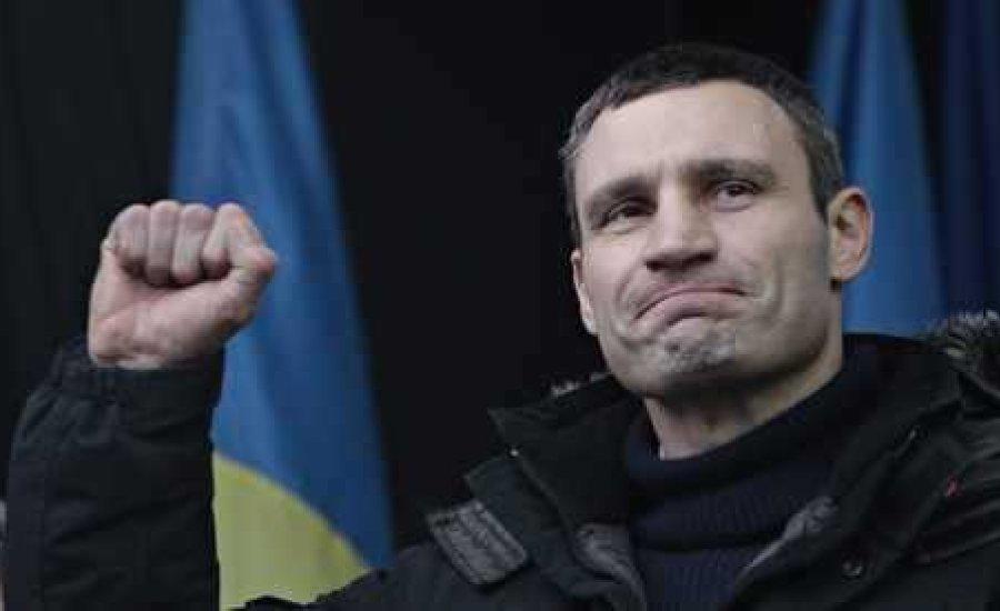 Vitalij Klicsko indul az ukrán elnökválasztáson
