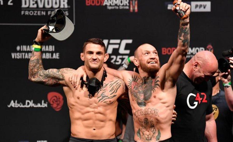 McGregor vs. Poirier: szemtől szemben