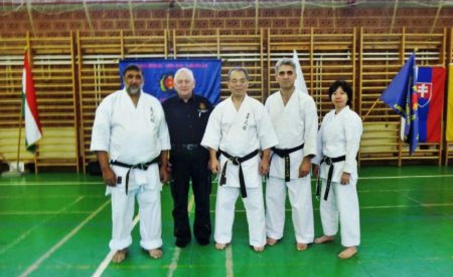 International Goju-Ryu Karate Do Sakura-Kai Szeminárium Bp-en