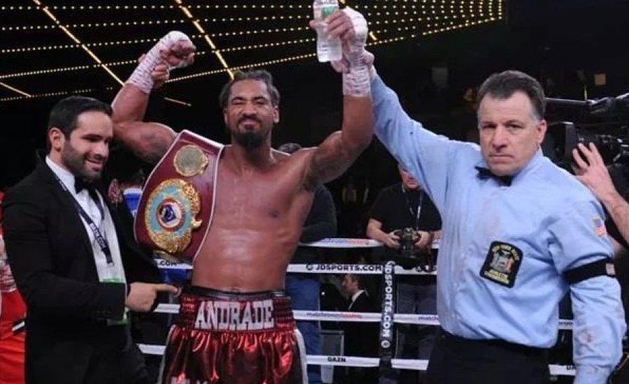 Andrade 24 másodperccel a vége előtt TKO-val nyert