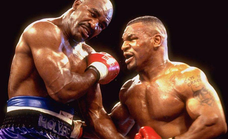 Holyfield boxtörténelmi csatát vár Mike Tyson ellen