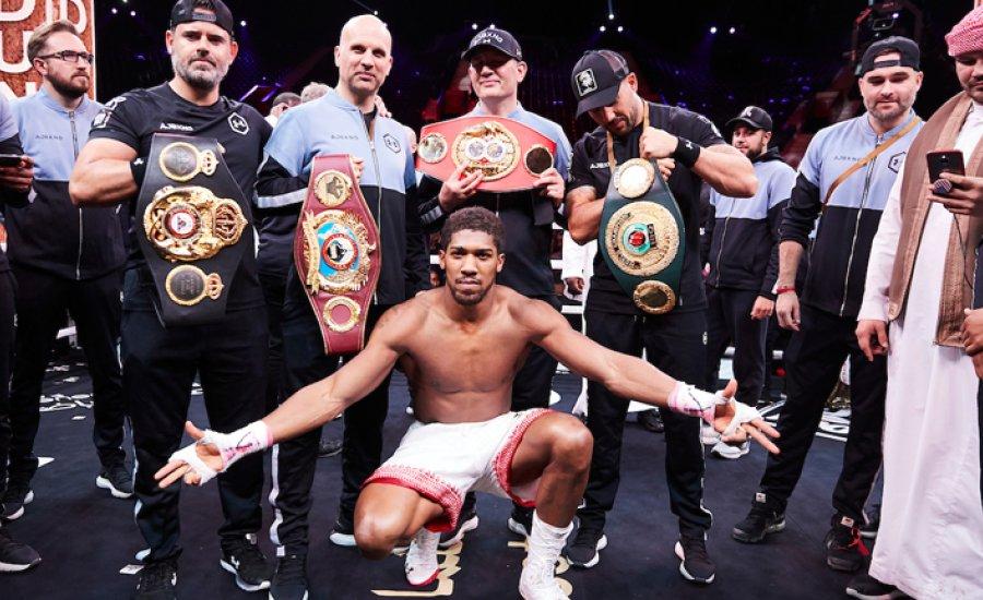 A WBO nem engedi a Joshua-Fury-t