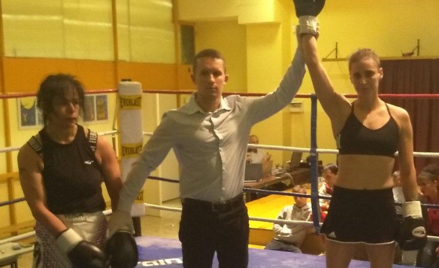 Rákóczi Renáta most bokszmérkőzést nyert