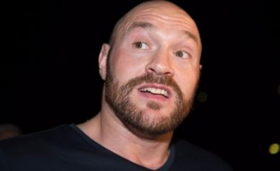 Tyson Fury tagad