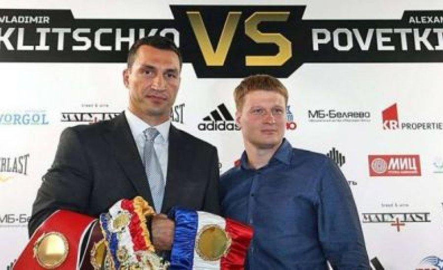 A Klicsko-Povetkin hivatalos bírái