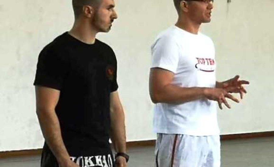 Light-contact, kick-light edzések az Orosházán Olasz Attilával