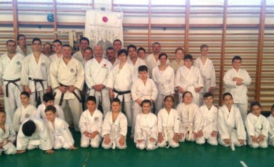 A Budo Karate Of  Hungary szövetség szakmai hétvégéje Edelényben