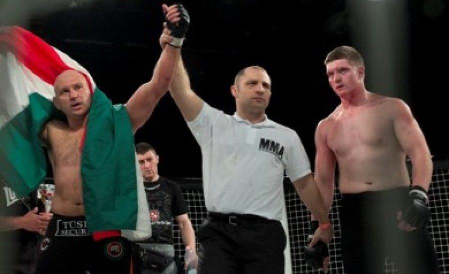 Kemény küzdelmek a debreceni MMA-gálán