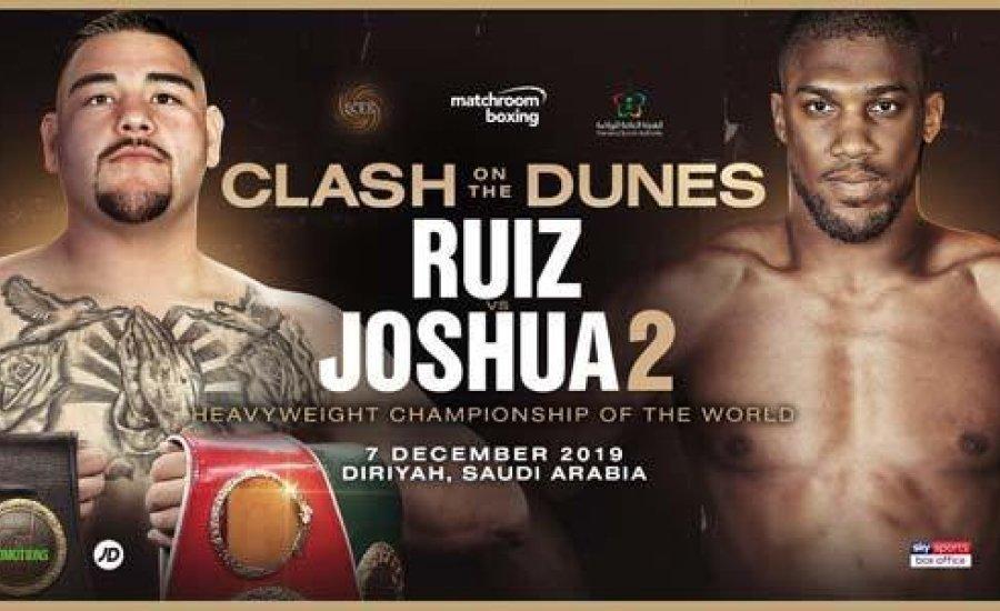 Hivatalosan bejelentették a Ruiz-Joshua visszavágót