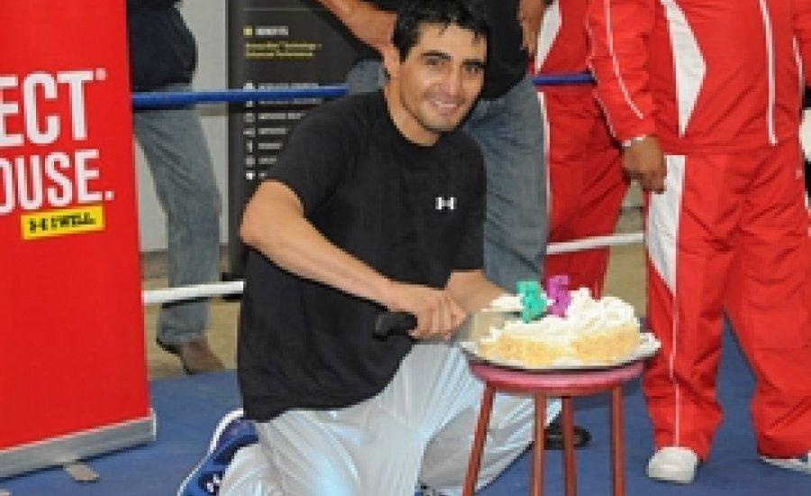 Morales 35 évesen is nagy formában